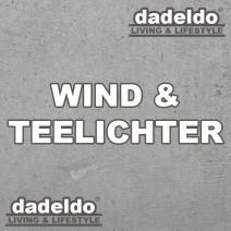 Wind & Teelichthalter