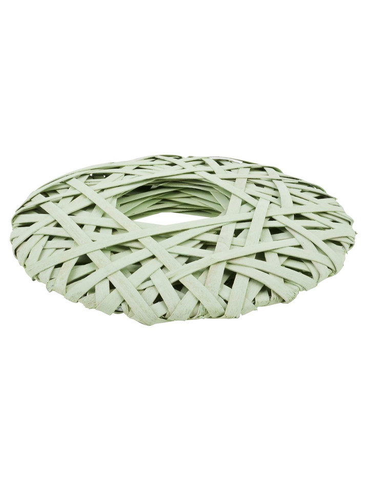 Kranz country flair design deko rattan 26x26cm gr n 4 95 for Design deko