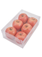 Apple Deco Set-6 Box foam 8x8x8cm orange