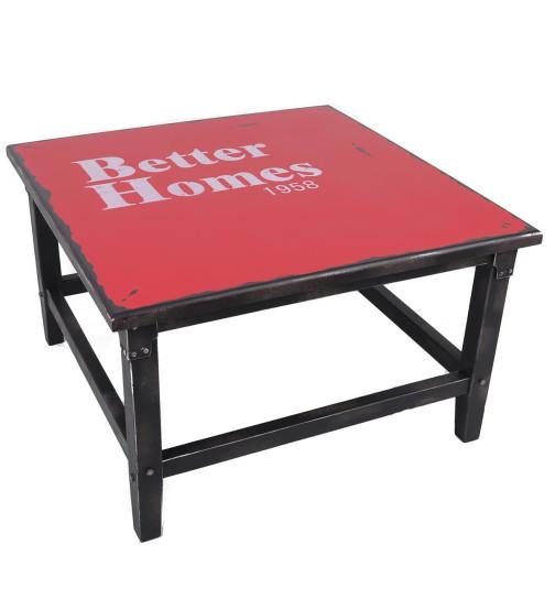 spiegel vintage industrial design 120x40x3cm rot 59 95. Black Bedroom Furniture Sets. Home Design Ideas